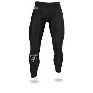 Zubaz Men's Raiders NFL Black Leggings